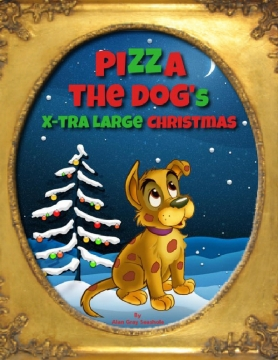Pizza The Dog's Extra Large Christmas