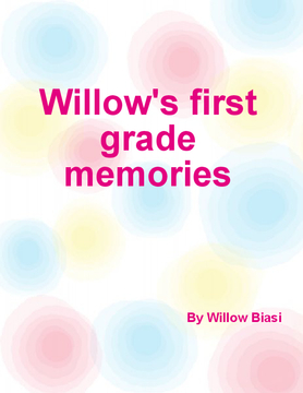 Willow's first grade