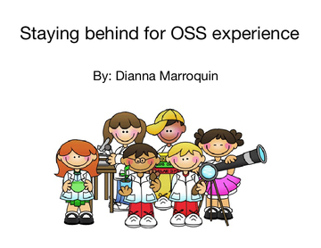 Staying behind for OSS experience