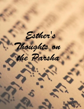 Esther's D'var Torah Book