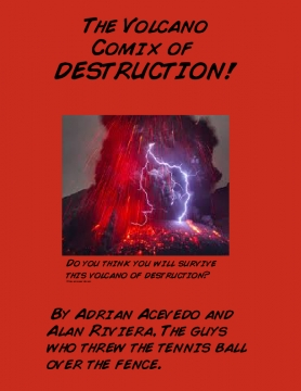 The Volcano Comix of DESTRUCTION!