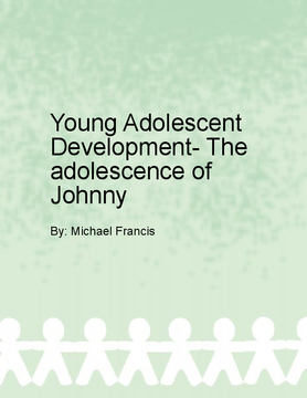 Young Adolescent Development: Boys, Girls, and their School-Life