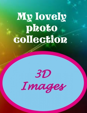 My lovely bool of 3D  photos