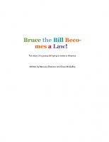 Billy the Bill Becomes a Law!