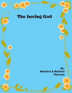 The Loving God