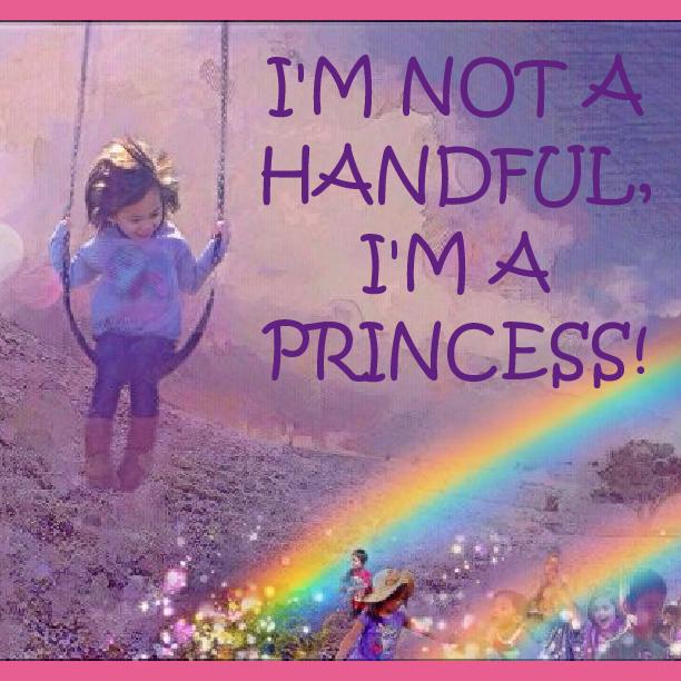 i u0026 39 m not a handful  i u0026 39 m a princess