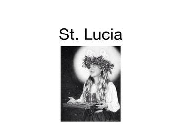 St. Lucia Day