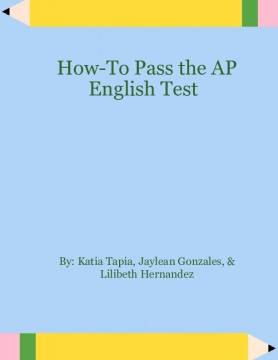 How to Pass the AP English Test