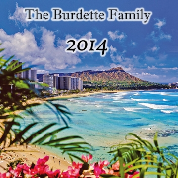 The Burdette Family 2014