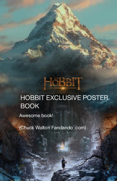 Hobbit EXCLUSIVE POSTER BOOK