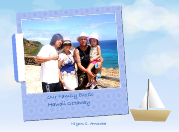 Our Family Exotic Hawaii Getaway