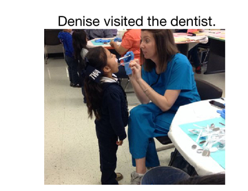 Ms. Calvario's class visits the dentist