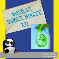 SAVE IT DONT WASTE IT!