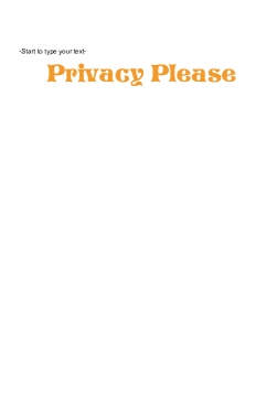 Privacy Please