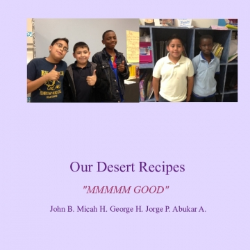 Our Desert Recipes