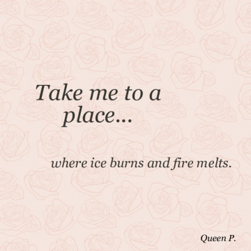 Take me to a place...