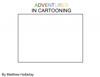 ADVENTURE IN CARTOONING