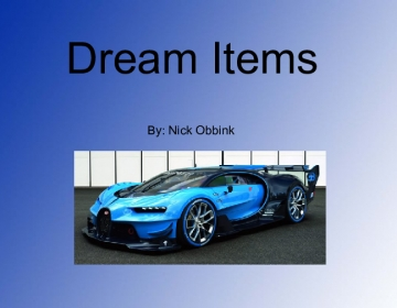 Dream Items!