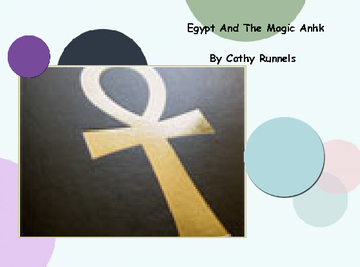 Egypt and the Magic Ankh