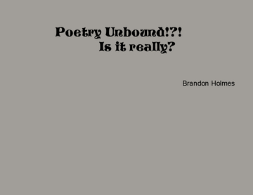 poetry unbound!?!