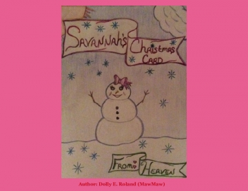 Savannah's Christmas card From Heaven