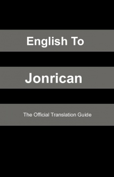 English To Jonrican