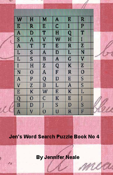 Word Search Puzzle Book No 4