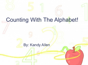 counting With The Alphabet!