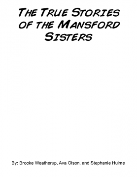 The True Stories of the Mandsford Sisters