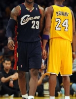 LeBron James vs Kobe Bryant