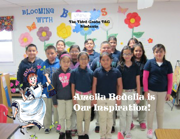 Amelia Bedelia is Our Inspiration!