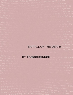 BATTALL OF THE DETH
