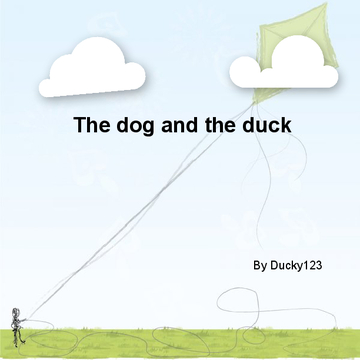 The dog and the duck