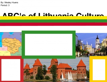 ABC's of Lithuania