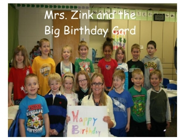 Mrs. Zink and the Big Birthday Card