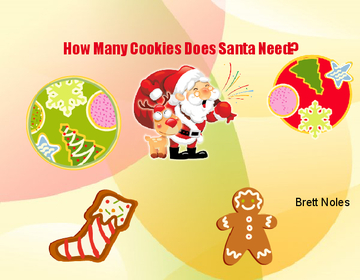 How Many cookies does Santa Need?