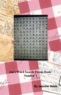 Jen's Word Search Puzzle Book - Number 3
