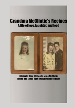 Grandma McClintic's Recipes