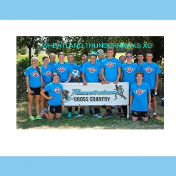 Thunderhawks/Bulldogs XC Yearbook 2015