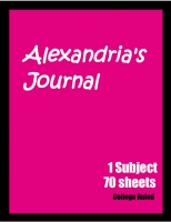 Alexandria's Journal
