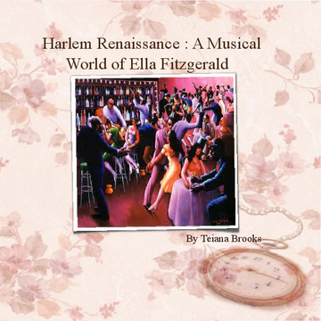 The Harlem Renaissance : A Musical World of Ella Fitzgerald