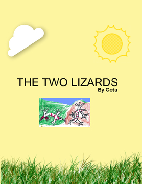 The two lizards