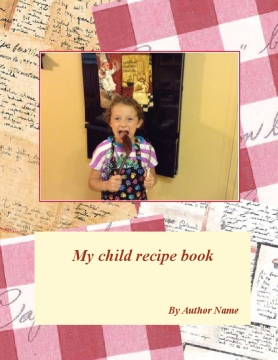 My child recipe book