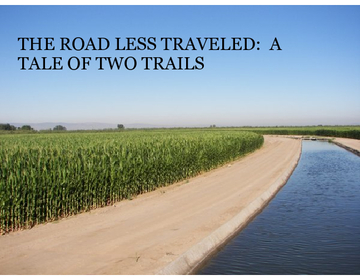 The Road Less Traveled:  A Tale of Two Trails