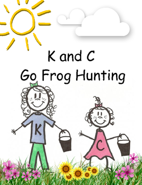 K and C Go Frog Hunting