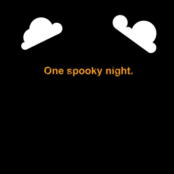One scary night.
