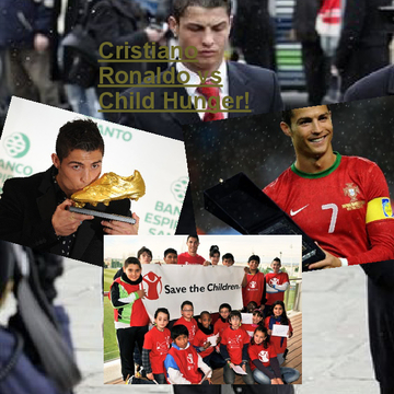 Cristiano Ronaldo vs Child Hunger!