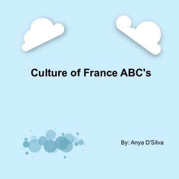 Culture of France ABC's