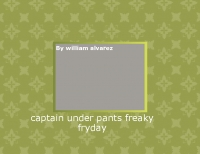 captain under pants the feaky fryday