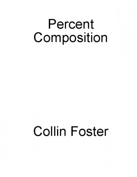 M5L2M1: Percent Composition Story